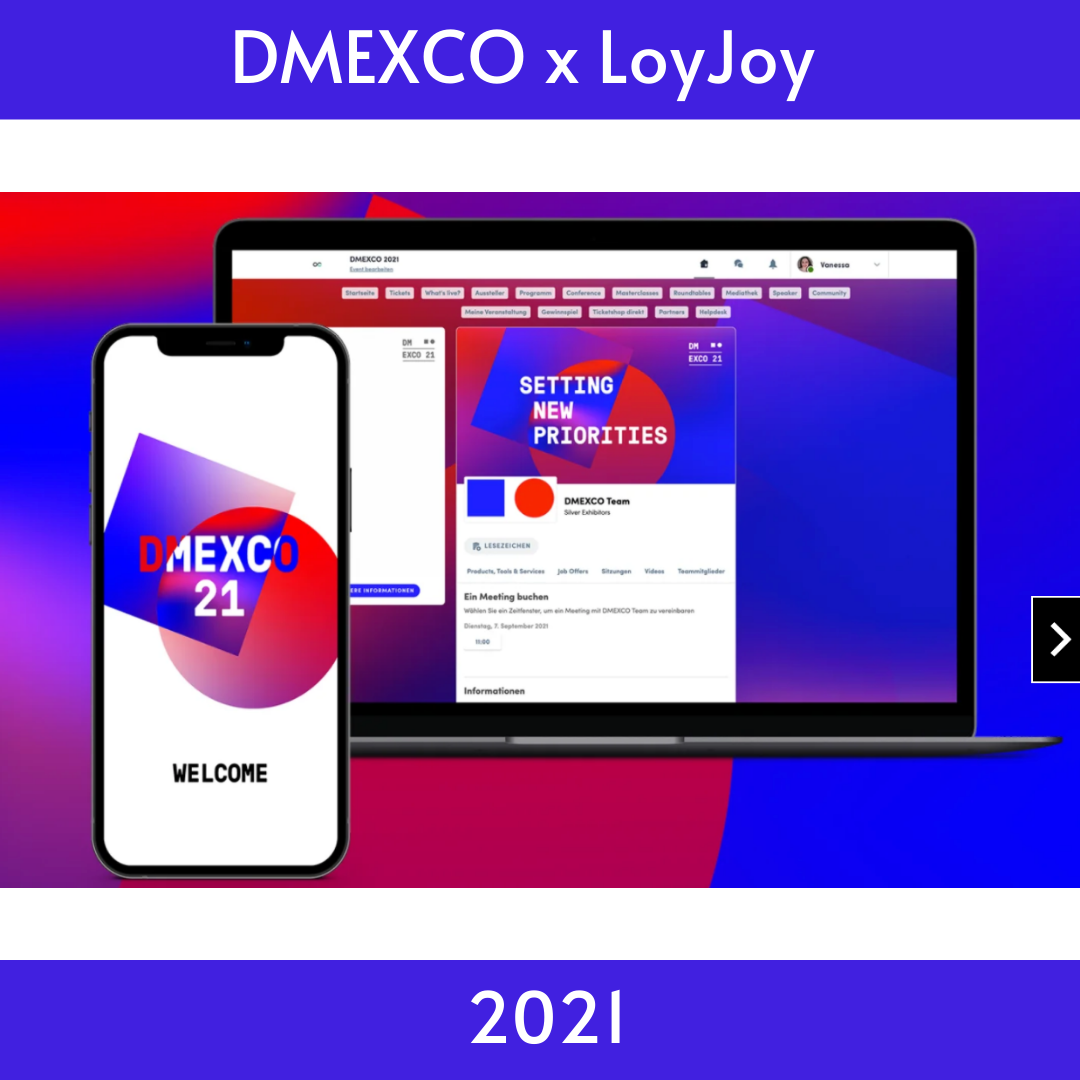 This year´s DMEXCO with LoyJoy
