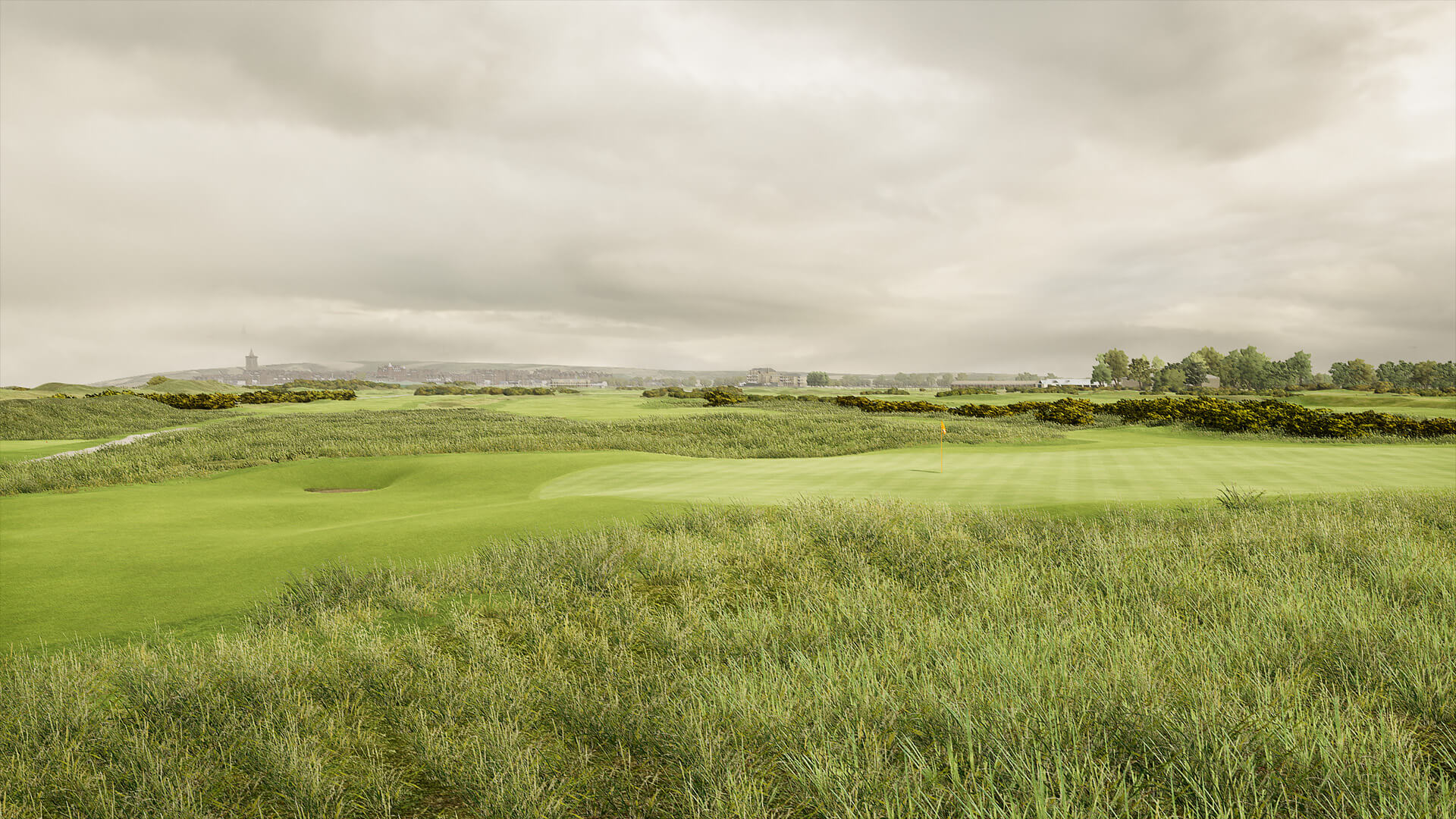 ST ANDREWS LINKS NEW COURSE