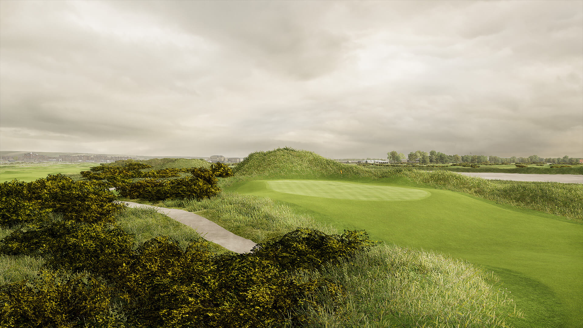 ST ANDREWS LINKS JUBILEE COURSE