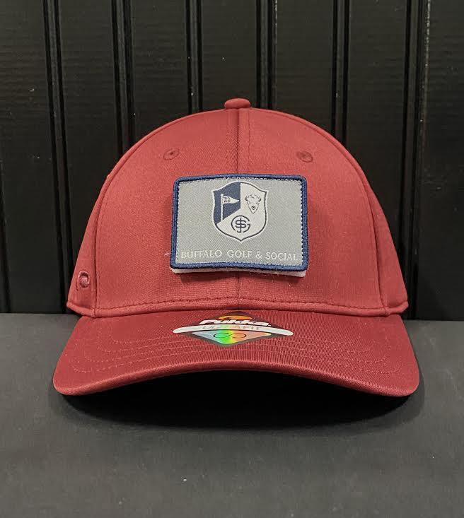 BG&S Velcro Hat (Maroon)