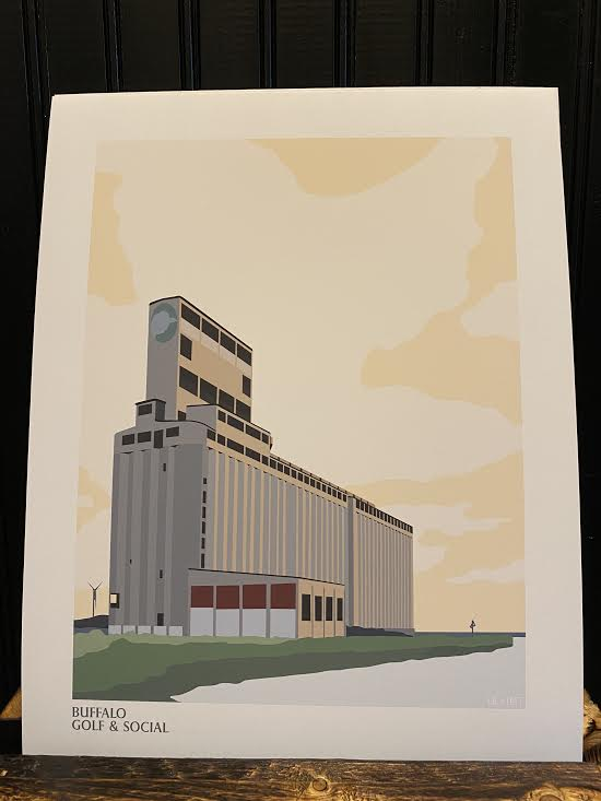 Buffalo Grain Elevator Print