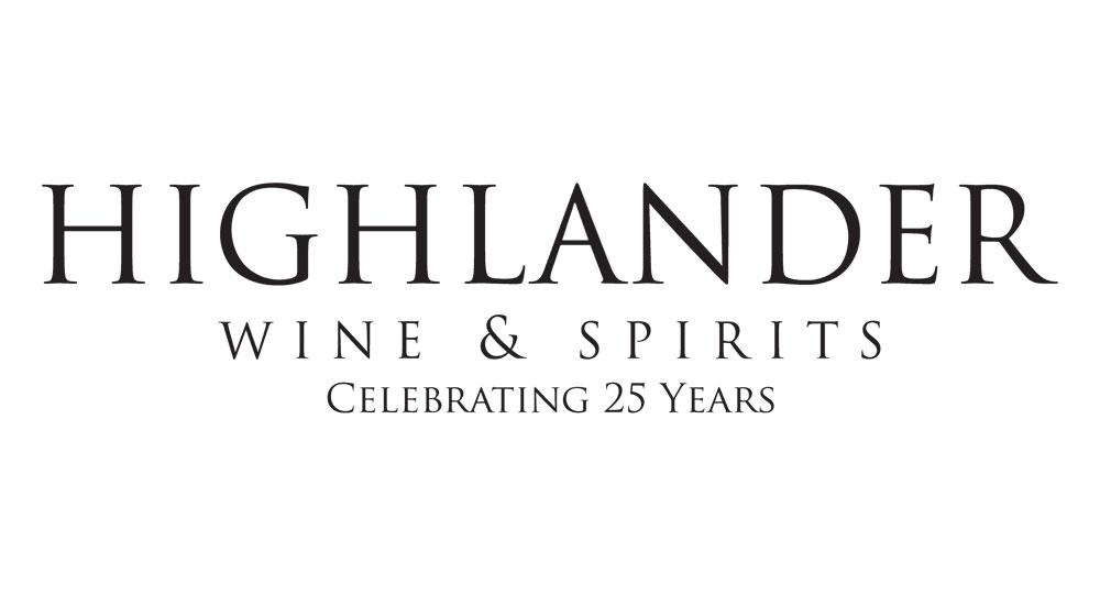 Highlander Wine and Spirits Logo. Click to order online.