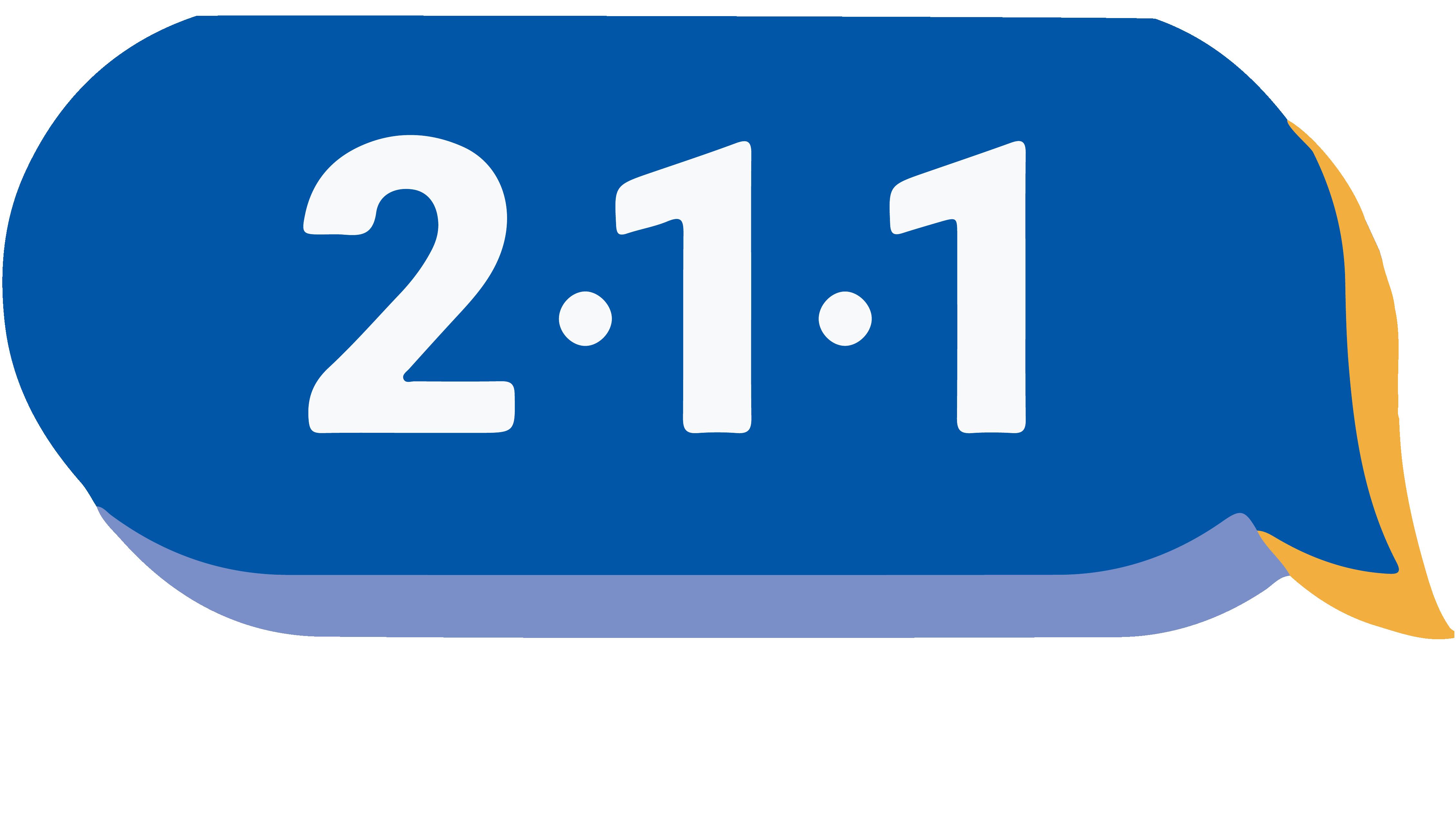 Riverside County 211 logo