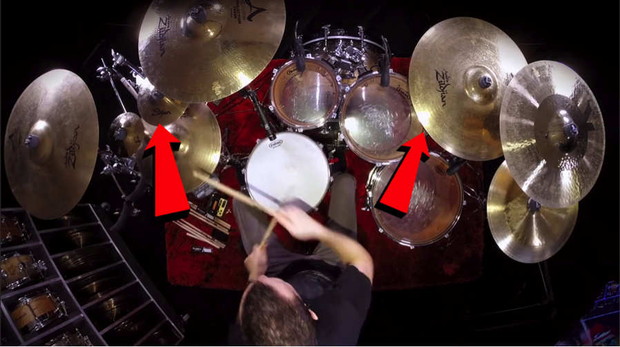 Drum-Cover-drums-180-drum-180drums-online-drum-lessons-learn-how-to-play-instruments-cymbals-snare-Online-Drum-Lessons-Steve-Augustine-Groove-Gopro-Camera-How-To-Record-Easy-Epic-lights