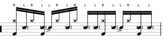 gospel-linear-groove-chops-gary-chaffee-5-note-sticking-linear-pattern-accents-rhythm-180-drums-180drums-180family-berklee-school-music-drums-drumming-2-snare-drum-backbeat-education-online-lessons