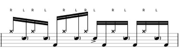 gospel-linear-groove-chops-gary-chaffee-5-note-sticking-accents-180-drums-180drums-berklee-school-music-drums-drumming-2-snare-drum-online-lessons-steve-gadd-mike-clark-david-garibaldi-fills-idea-2