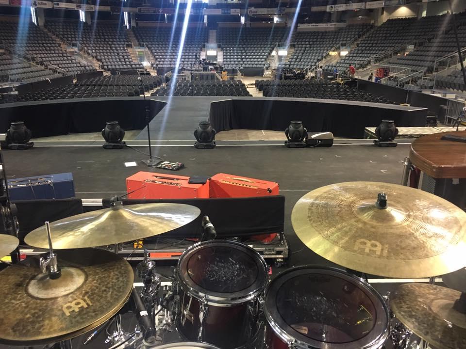 ben sesar meinl cymbals drumming live sakae drums nashville tour