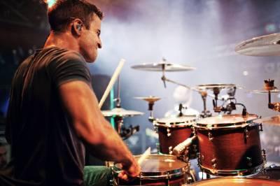 Matt Greiner at concert