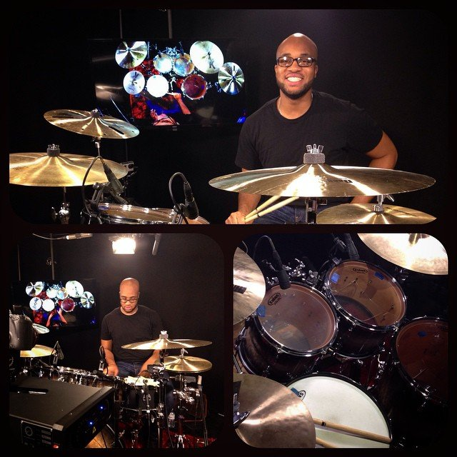 adrian-bent-clinic-pearl-drums-sabian-cymbals-evans-overhead-stage-drake-live-180