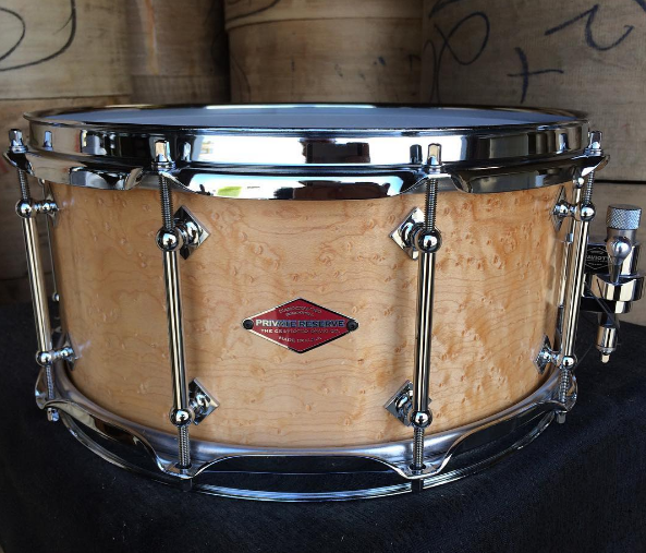 craviotto-maple-shells-solid-shell-snare-drum-stave-maple-walnut-poplar-birch-mahogany-santa-cruz-california-drums-drummers-johnny-steam-bend-nashville-huge-drumkit-drumset-reserve-shop-snaredrum-snare