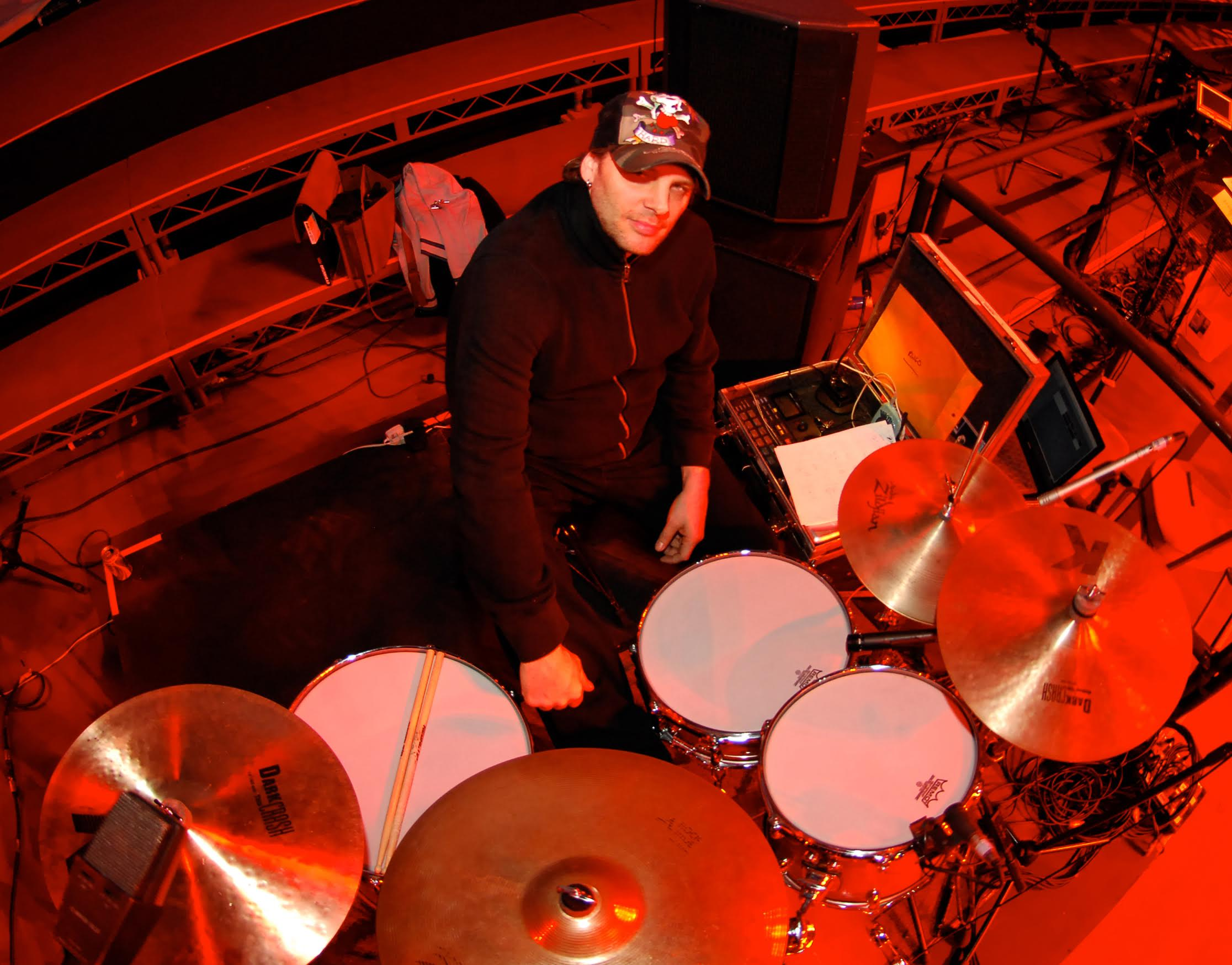 randy-cooke-the-voice-drummer-live-recording-drums-yamaha-sir-2
