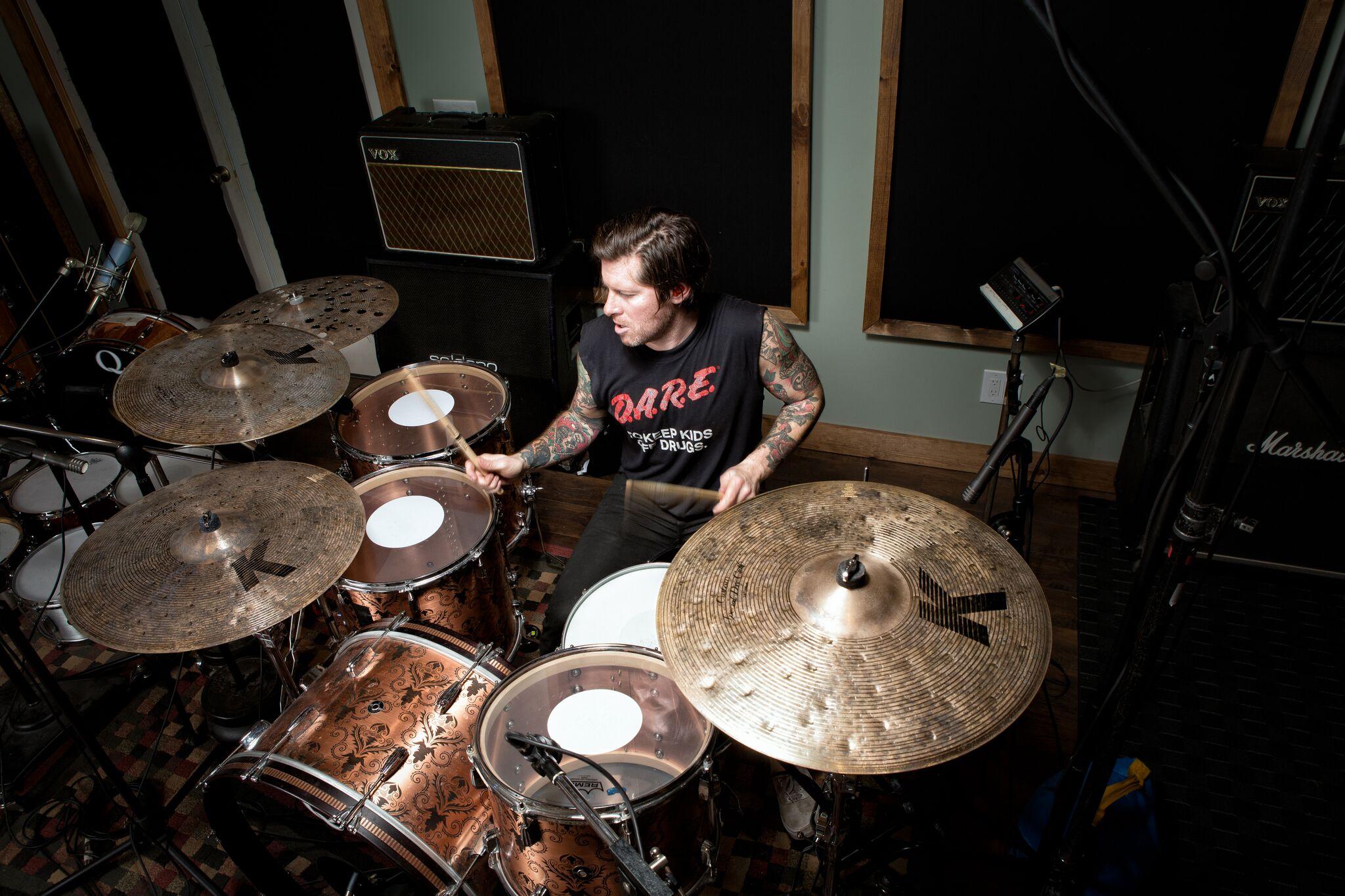 tucker rule 180 drums drummer new york