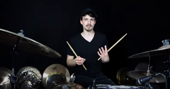 7 Crazy Fast Single Pedal Drum Beats | Wojtek Deregowski