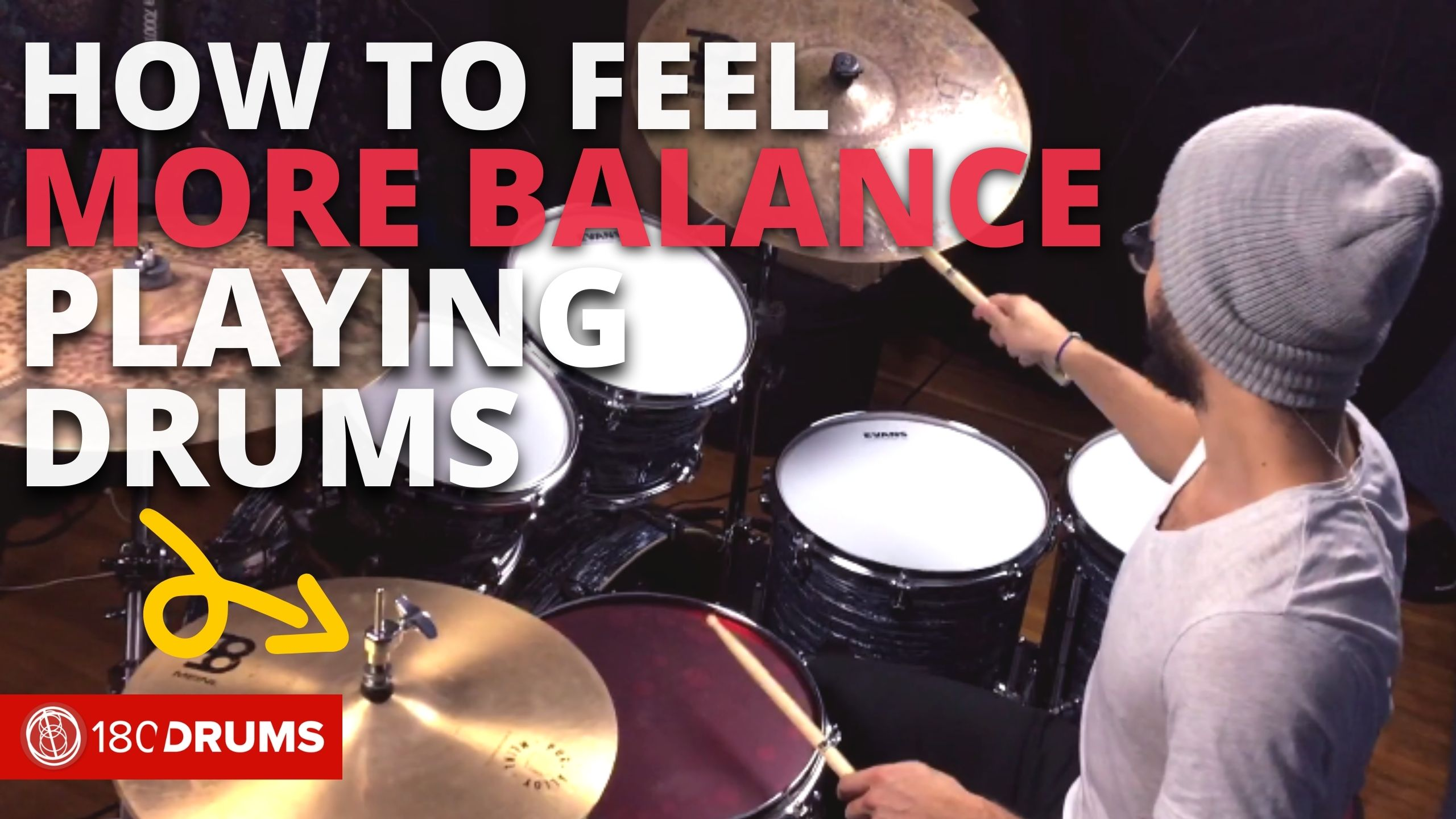 How To Feel More Balanced Playing Drums | Richie Martinez