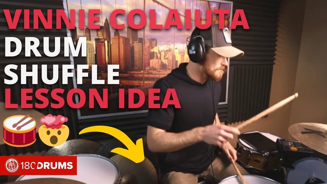 Vinnie Colaiuta Inspired Sextuplet Shuffle | Jake Nicolle