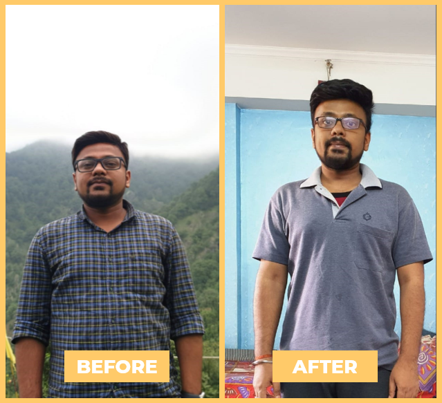 Harsh - Health Transformation - NutriPal - Your personal Dietician