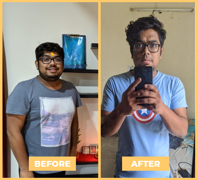 Shashank - Health Transformation - NutriPal - Your personal Dietician
