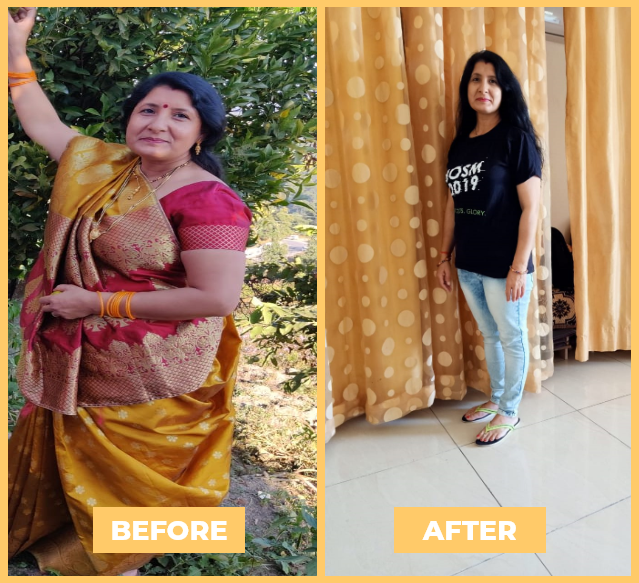 Hemlata Ojha - Health Transformation - NutriPal - Your personal Dietician