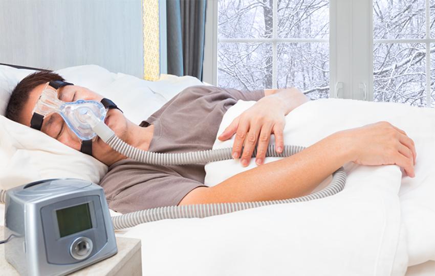 Sleep apnea in men