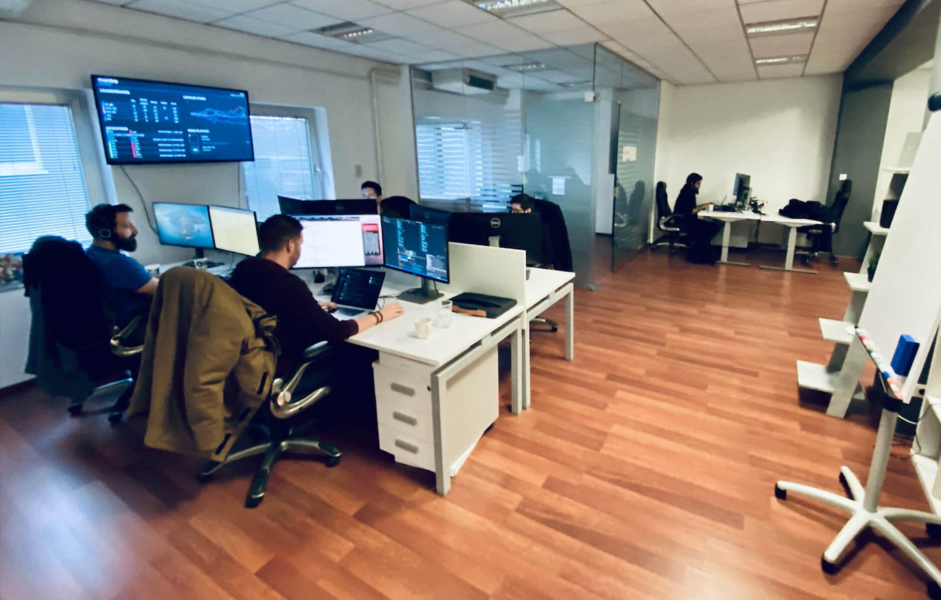 The Sidequest Zagreb office.