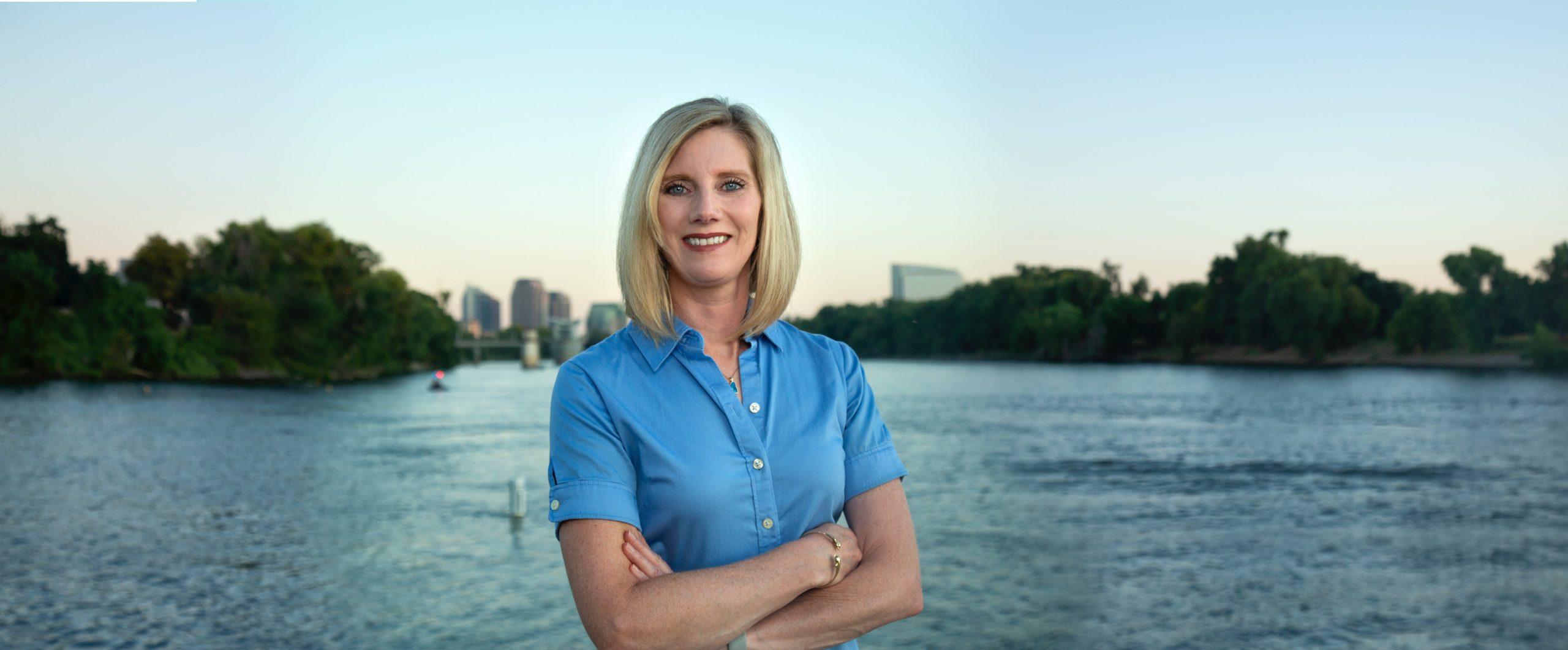 Jenna Abbott, Executive Director of The River District PBID