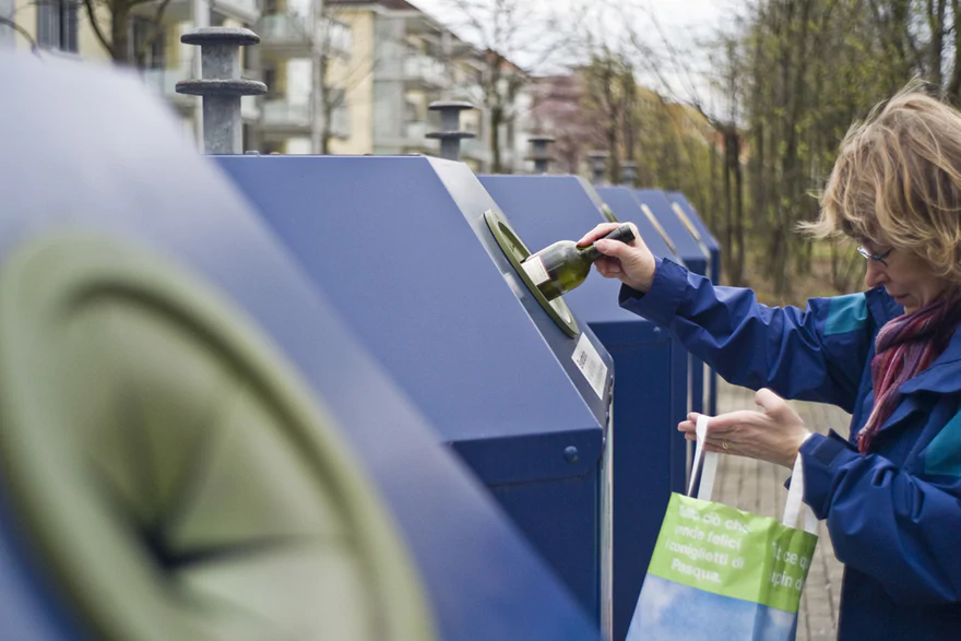Será que os suiços deveriam parar de separar seu lixo?