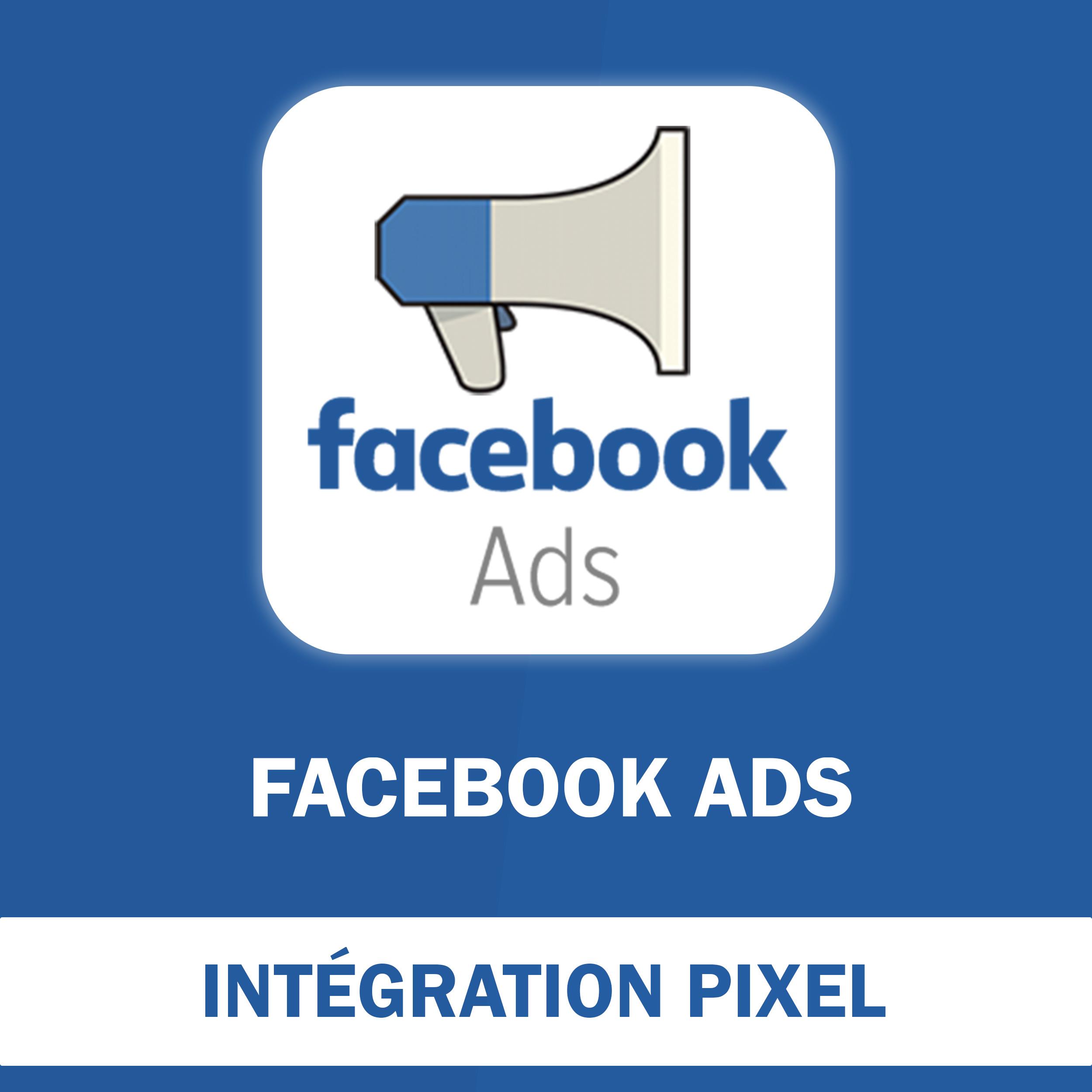 Installation du Pixel Facebook