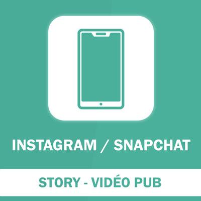 Story publicitaire vidéo Display