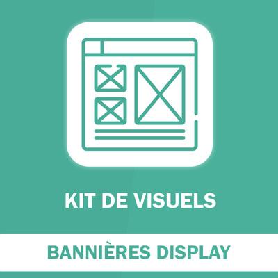 Kit de Visuels - Bannières Display