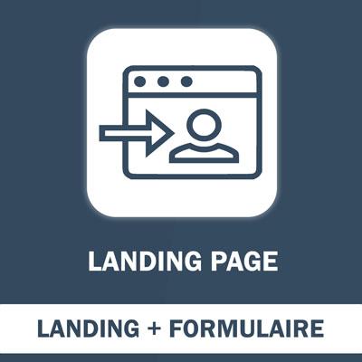 Landing Page avec formulaire