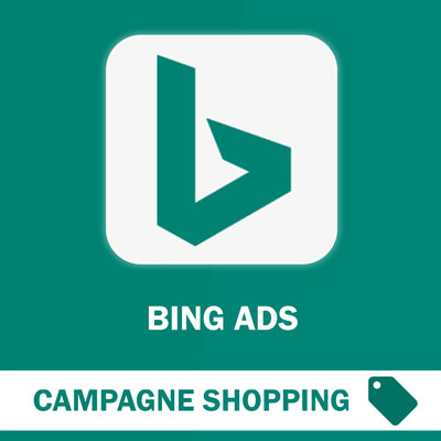 Campagne Shopping Bing Ads