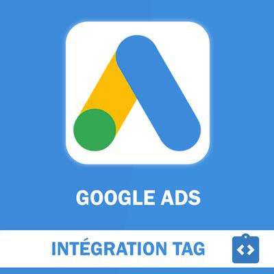 Installation du Tag de suivi Google Ads