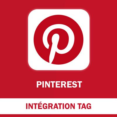 Installation du Tag de suivi Pinterest