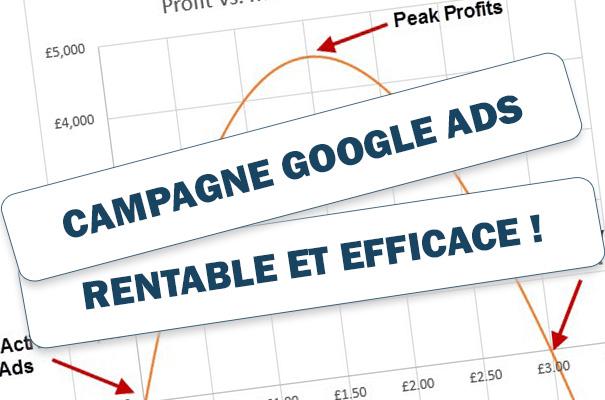 Campagne Google Ads rentable et efficace : les étapes indispensables