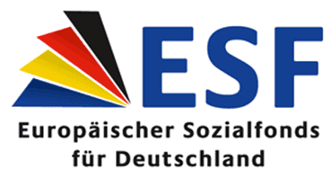 Gefördert duvh den Europäischen Sozialfund