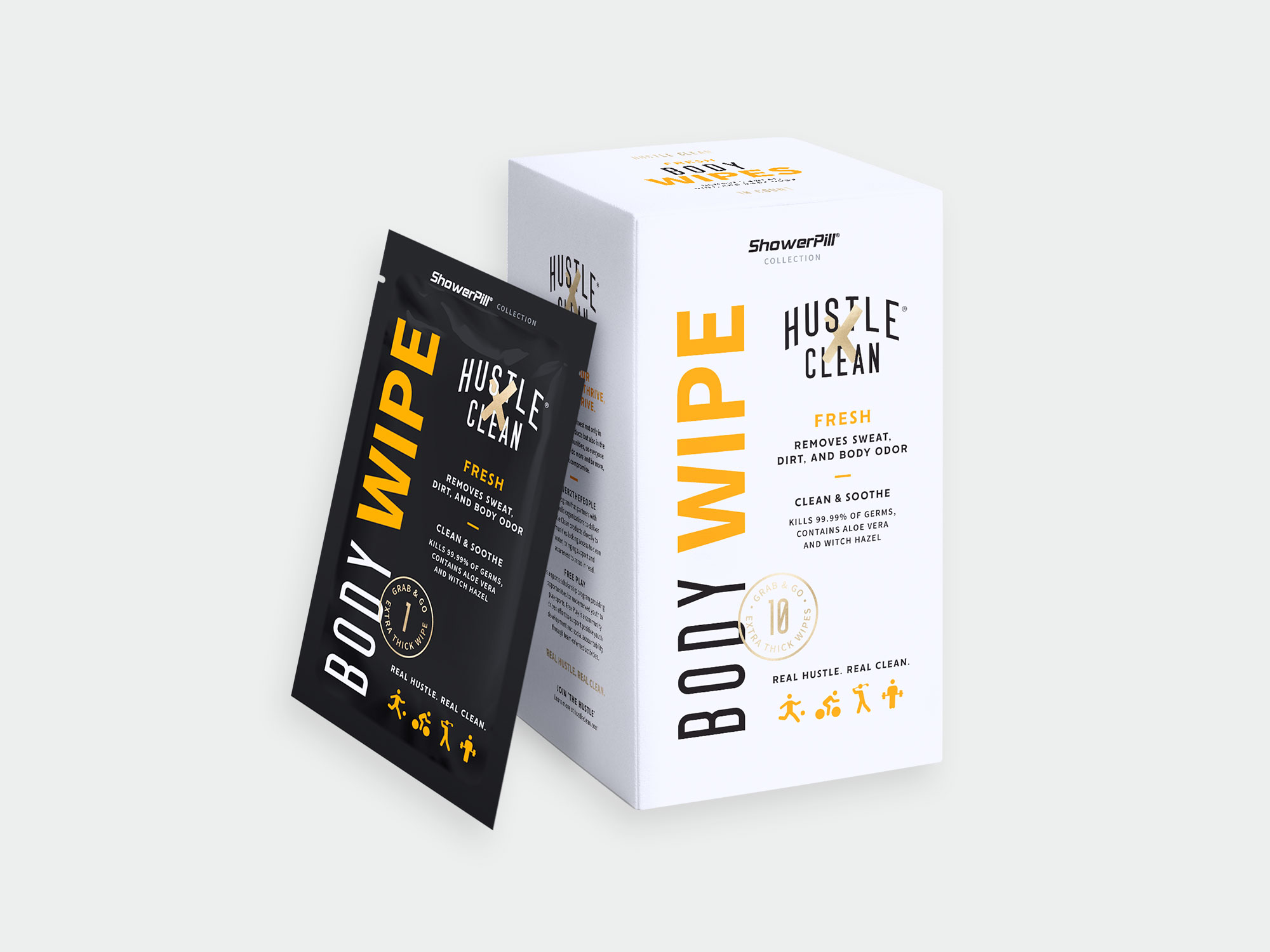 The body wipe product package
