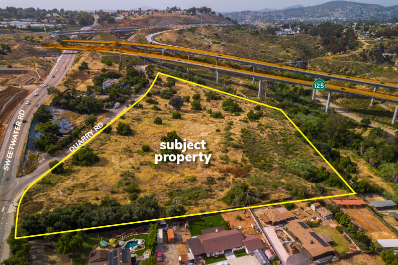 Potential 18 Lot Sub-Division - Approximately 9.45 Acres