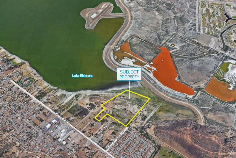 Lake Elsinore Mitigation Land