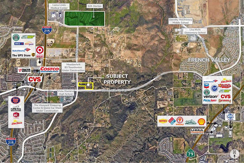 13.48 Acres in Murrieta- Dense Residential Development Site