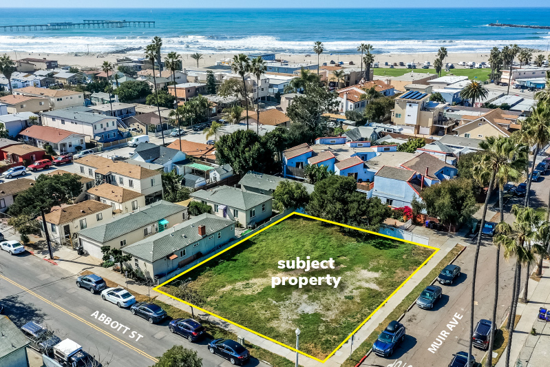 3 Permit Ready Single Family Row Homes in Ocean Beach