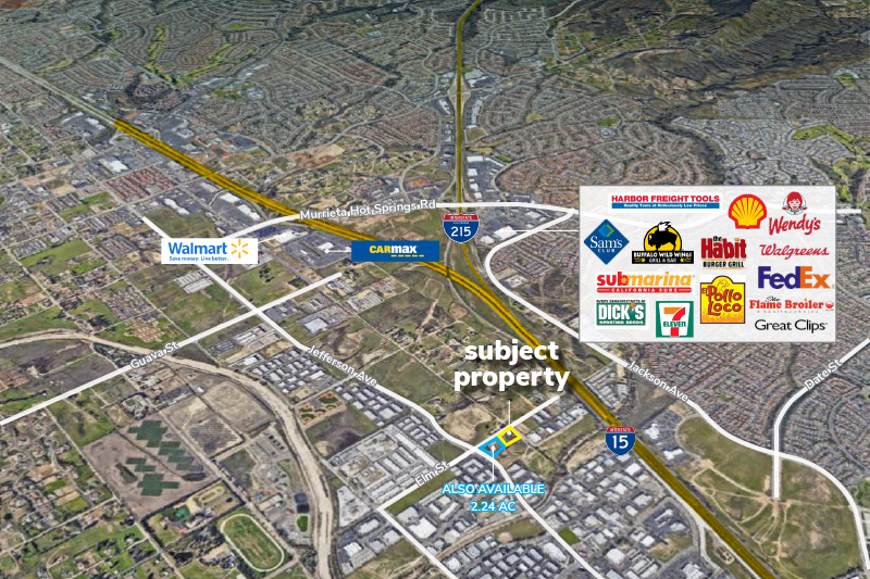 2.77 Acres of Industrial Land in the South Murrieta Business Corridor