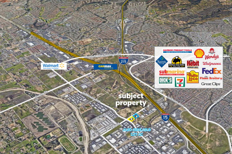 2.24 Acres of Industrial Land in the South Murrieta Business Corridor