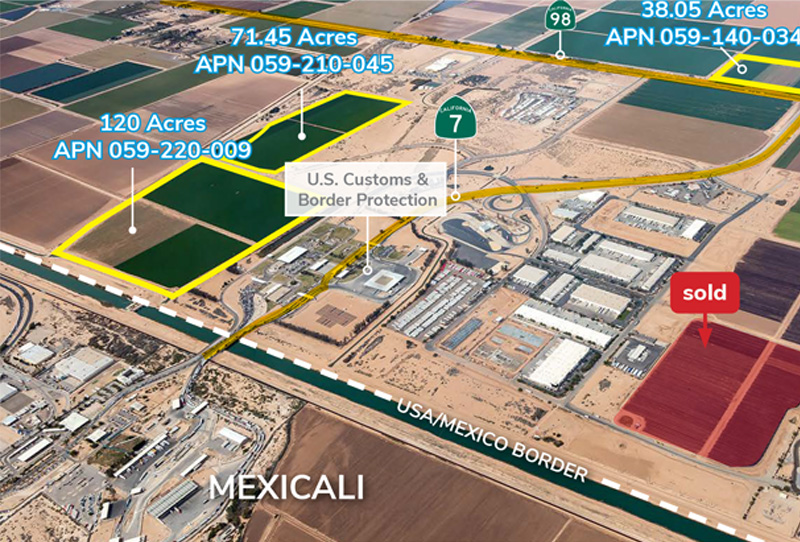 Industrial Land - Opportunity Zone (30-120 Acres)