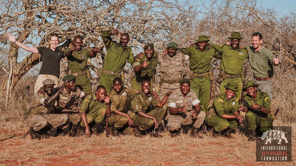 Team of rangers group photo