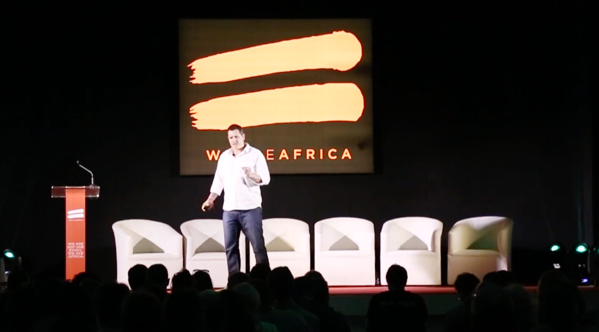We Are Africa Conservation Lab 2015 - Damien Mander