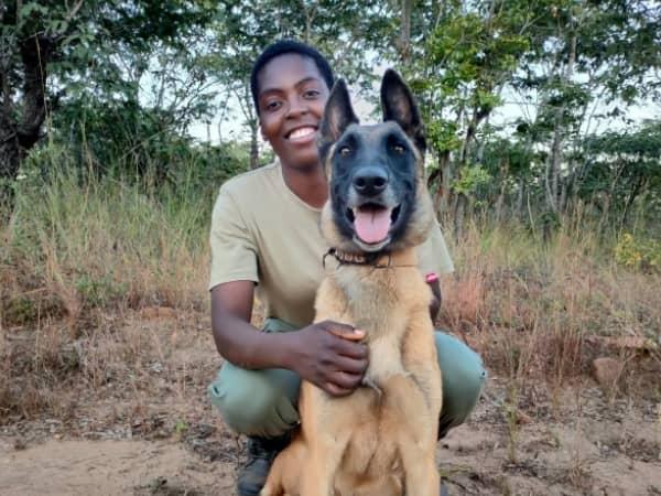 Meet Katana, The Canine Member of the All-Female Akashinga Anti-Poaching Unit