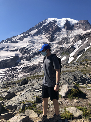 Hiking at Mt Rainier