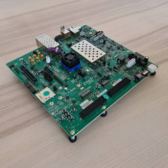 Xilinx zynq ultrascale+ FPGA running lwIP stack with firmware modifications