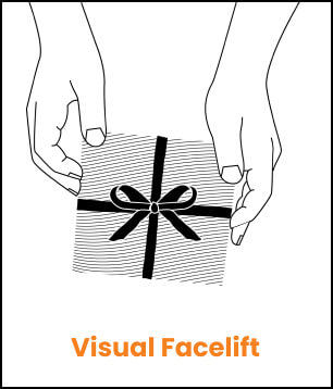 visual facelift