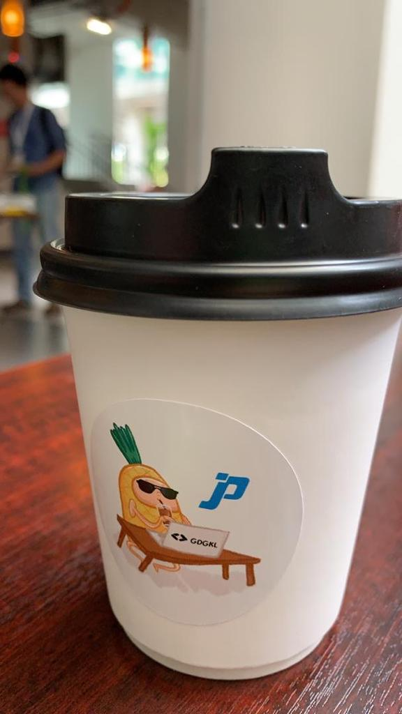 JP Associates IT Recruitment Firm Malaysia - JP Associates brand cup